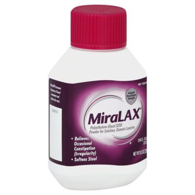 MiraLAX® Laxative 8.3 oz. Dissolving Powder