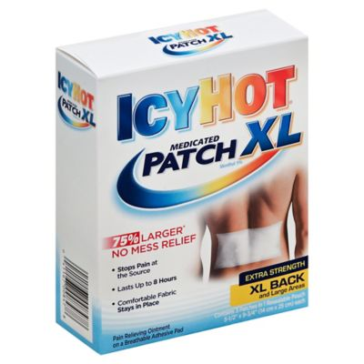 Icy Hot® Extra Strength 3-Count XL Medicated Back and Large Area Patches