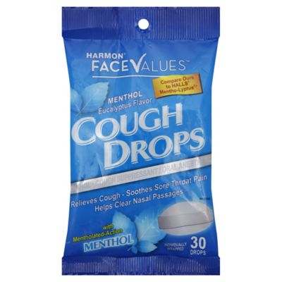 Harmon® Face Values™ 30-Count Cough Drops in Menthol Eucalyptus