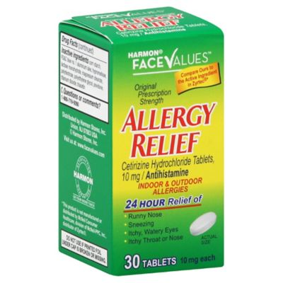 Harmon Face Values Allergy Tablets