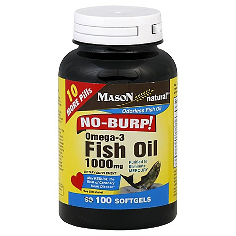 buy mason no burp 100 count fish oil from bed bath beyond