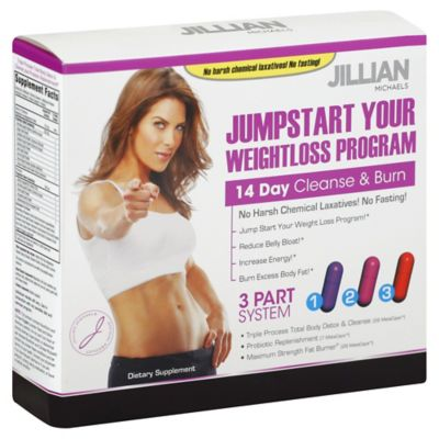 Jillian Michaels JumpStart Your Weightloss Program 14-Day Cleanse and Burn