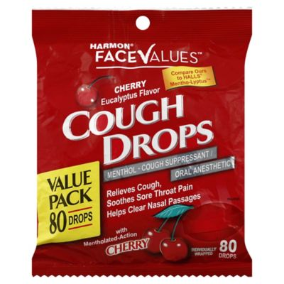 Harmon® Face Values™ Cherry Eucalyptus 80-Count Drops