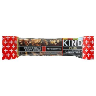 Kind Plus 1.4 oz. Dark Chocolate, Cherry, Cashew and Antioxidants Bar