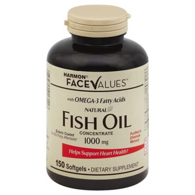 Harmon Face Values™ Enteric Coated Fish Oil 150-Count 1000 Mg