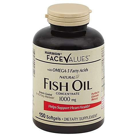 Buy harmon face values enteric coated fish oil 150 count for Enteric coated fish oil