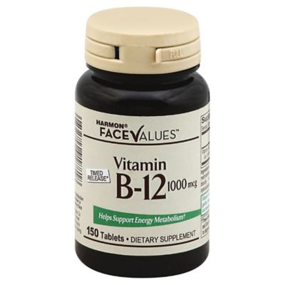 Harmon Face Values B-12 Tablets