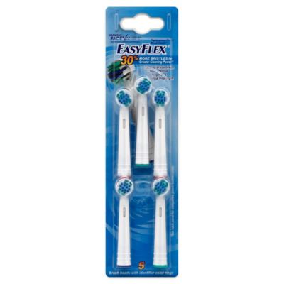 Harmon® Face Values™ 5-Count Easy Flex Brush Heads