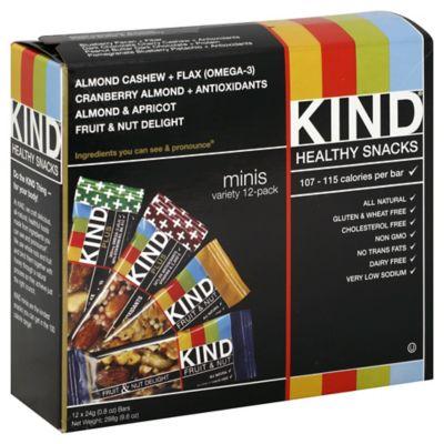 Kind® Minis 12-Pack Variety Snack Bars