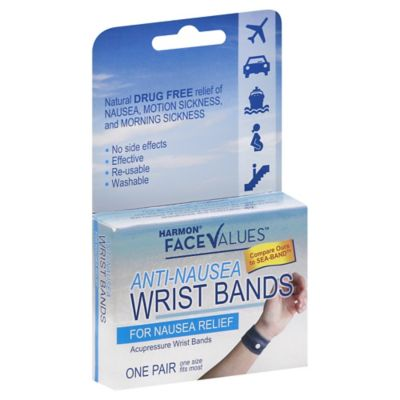 Harmon® Face Values™ 1-Pair Anti-Nausea Wrist Bands
