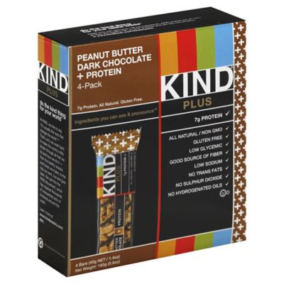KIND® Plus 4-Pack Fruit & Nuts Bars in Peanut Butter Dark Chocolate + Antioxidants