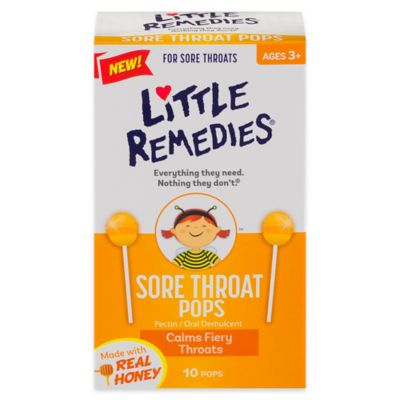 Little Remedies® for Colds 10-Count Honey Pops