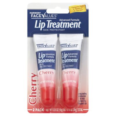 Harmon® Face Values™ 2-Pack Lip Treatment Skin Protectant in Cherry