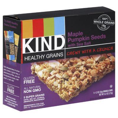 Kind® Healthy Grains 5-Pack Maple Pumpkin Seeds with Sea Salt Granola Bars