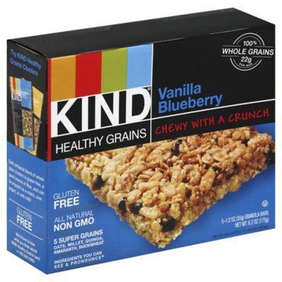 Kind® Healthy Grains 5-Pack Vanilla Blueberry Granola Bars