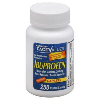 Harmon® Face Values™ Ibuprofen 250-Count Caplets