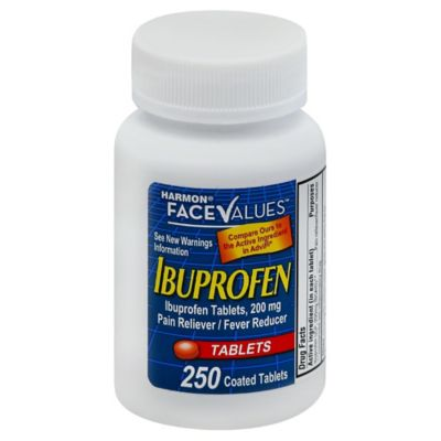 Harmon Face Values Ibuprofen Tablets