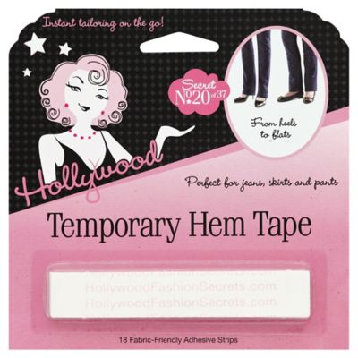 Hollywood 18-Count Temporary Hem Tape