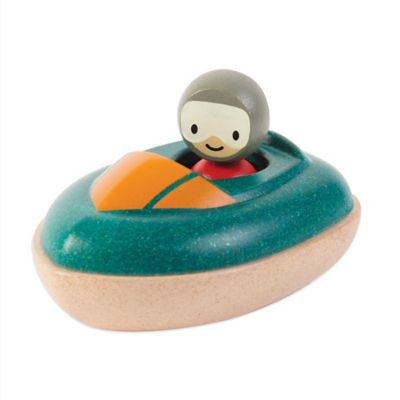 PlanToys® Speed Boat Bath Toy