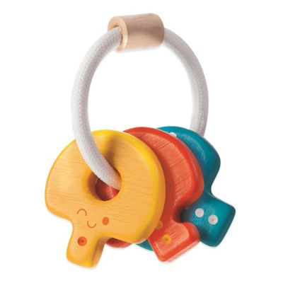 PlanToys® Baby Key Rattle