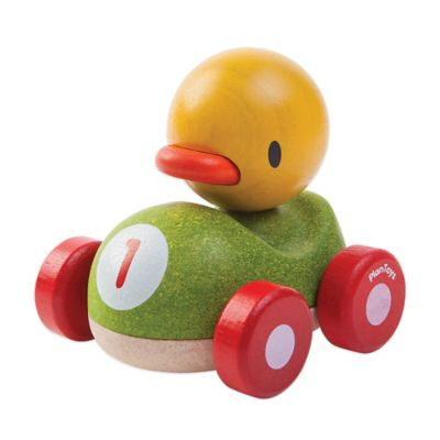 PlanToys® Duck Racer Push Toy