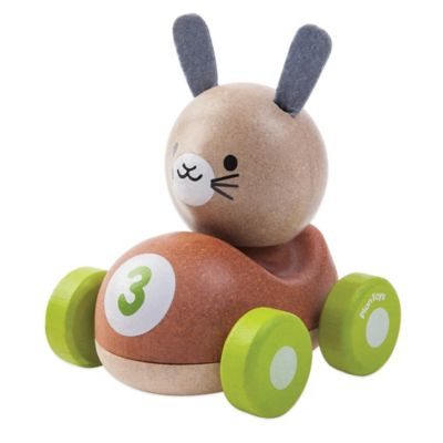 PlanToys® Bunny Racer Push Toy