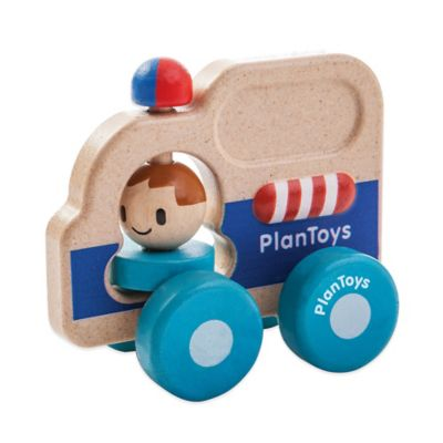 PlanToys® Rescue Car Push Toy