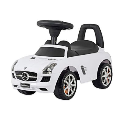 Mercedes SLS AMG Push Car in White