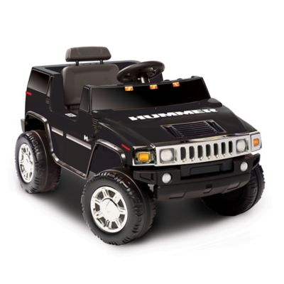 Kid Motorz Hummer H2 One-Seater 6-Volt Ride-On in Black