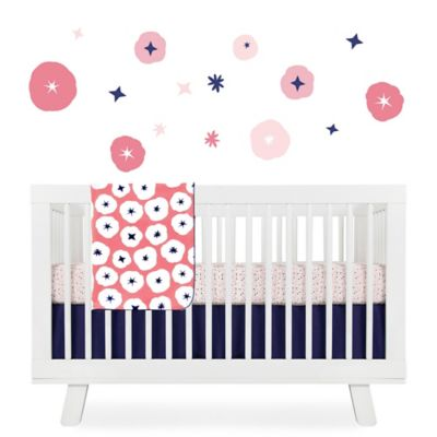 5-Piece Pink Crib Bedding