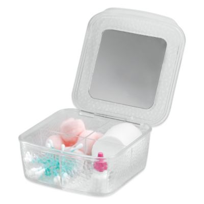 InterDesign® Rain Vanity Box with Mirror