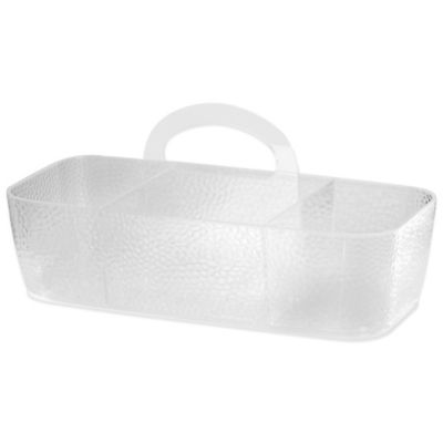 InterDesign® Rain Large Divided Shower Tote