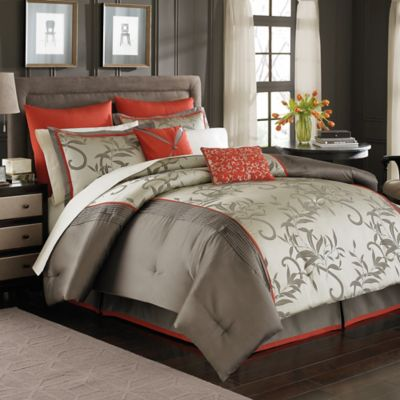 Manor Hill® Mirador 8- Piece King Complete Bed Ensemble