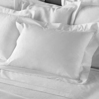 Frette At Home Piave King Sheet Set in White/White