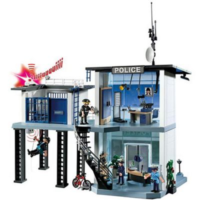 Playmobil® Police Station with Alarm System