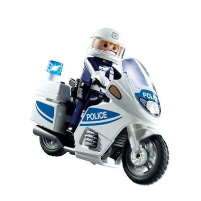 Playmobil® Police Motorcycle Set