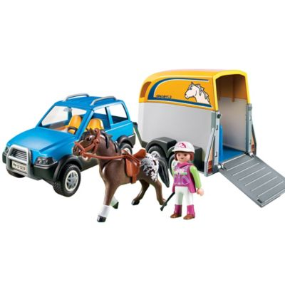 Playmobil® SUV with Horse Trailer
