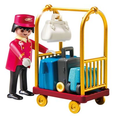 Playmobil® Porter with Baggage Cart