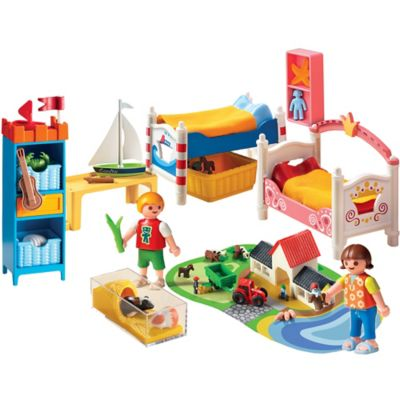 Playmobil® Boy and Girl Room Set