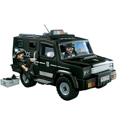 Playmobil® Tactical Unit Car Set