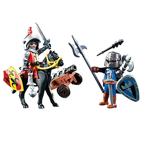 Playmobil knights carrying case playset www for Playmobil caballeros