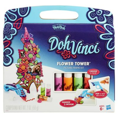 Hasbro® DohVinci Flower Tower Frame Kit
