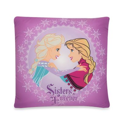 "Aquatopia™ Disney® Frozen ""Sisters Forever"" Memory Foam Pillow"