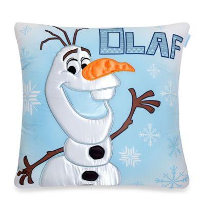 Aquatopia™ Disney® Olaf Snowflake 20-Inch Memory Foam Pillow