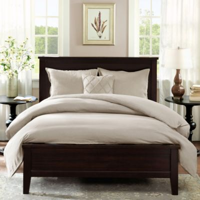 Linen Full/Queen Duvet Cover Set in Linen