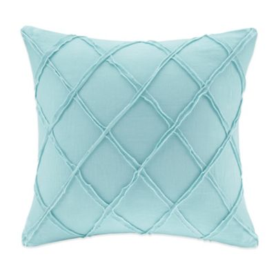Harbor House™ Linen Square Throw Pillow in Blue