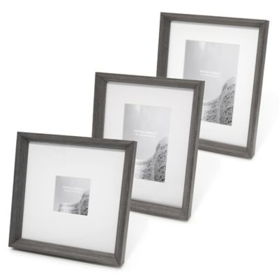Swing Design™ Sutton 8-Inch x 10-Inch Frame in Charcoal Grey