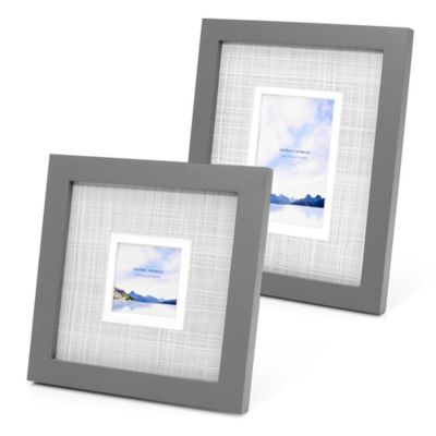 Swing Design™ Sutton 8-Inch x 10-Inch Frame in Grey