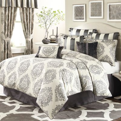 Michael Amini® Park Lane 4-Piece California King Comforter Set