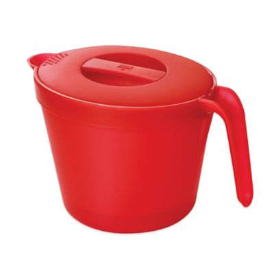 Kuhn Rikon Large Microwave Pot in Red